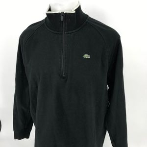 Lacoste Sweater 1/4 Zip Men Size 5 Medium 6-8